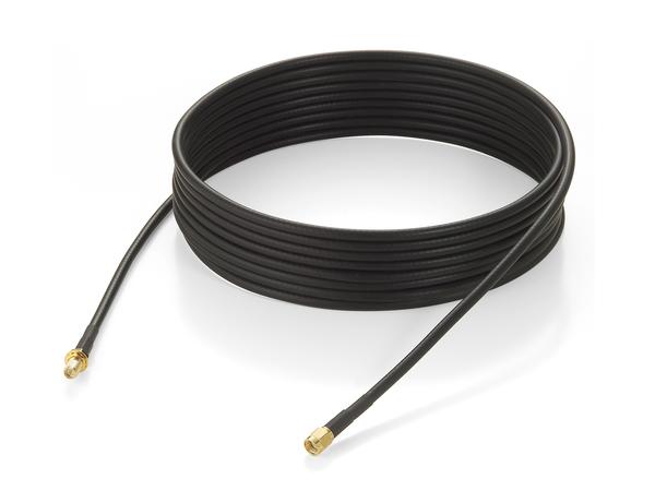 LevelOne DDC 200 Series - Antennenkabel - RP-SMA (M) bis RP-SMA (W) - 5 m - außen - Schwarz