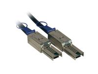 Fujitsu - Externes SAS-Kabel - 4x Shielded Mini MultiLane SAS (SFF-8088), 26-polig bis 4x Shielded Mini MultiLane SAS (SFF-8088), 26-polig - 5 m - für Scalar i500; ETERNUS LT40, LT60; FibreCAT