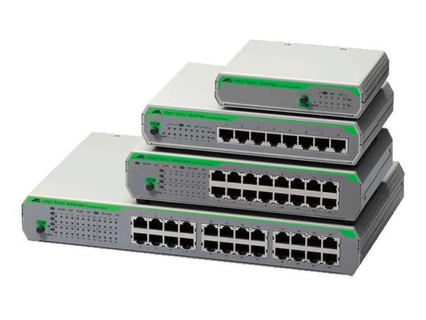 Allied Telesis AT-FS710/8-50, ungemanaged, Fast Ethernet (10/100), Rack-Einbau
