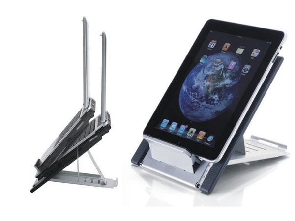 Deskstand Newstar Laptop/IPAD-Ständer Silber NSLS100