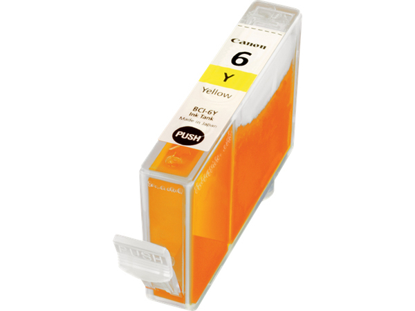 Canon BCI-6Y - Gelb - Original - Tintenbehälter - für BJ-S820; i990, 99XX; PIXMA IP3000, IP4000, iP5000, iP6000, iP8500, MP750, MP760, MP780