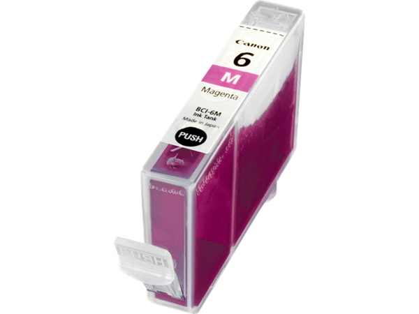 Canon BCI-6M - Magenta - Original - Tintenbehälter - für BJ-S820; i990, 99XX; PIXMA IP3000, IP4000, iP5000, iP6000, iP8500, MP750, MP760, MP780