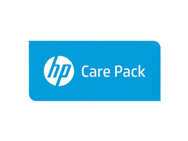 Electronic HP Care Pack Pick-Up and Return Service with Accidental Damage Protection - Serviceerweiterung - Arbeitszeit und Ersatzteile (für Notebook mit 3 Jahren Garantie) - 4 Jahre - Pick-Up