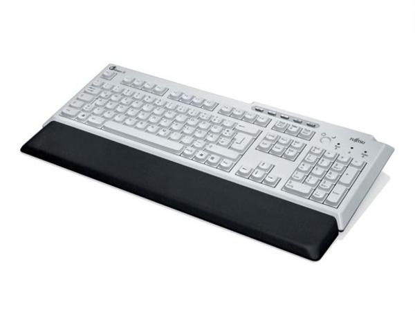 Fujitsu KBPC PX ECO - Tastatur - USB - Deutsch - Anthrazit, Marble Gray - für ESPRIMO D556, D757, D757/E94, D957, D957/E94, P556, P957, Q520, Q956; PRIMERGY TX2560 M2