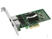 Intel PRO/1000 PT Dual Port Server Adapter, 5-Pack, Verkabelt, PCI, 1000 Mbit/s, SNMP, DMI 2.0, 21,3 mm, 129,5 mm