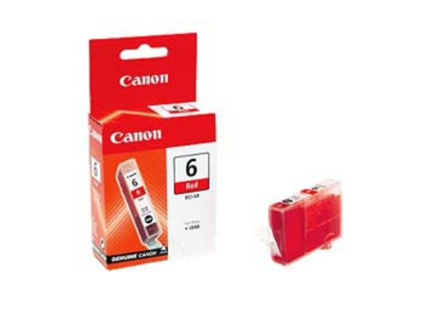 Canon BCI-6R - Rot - Original - Tintenbehälter - für i990, 9900, 9950; PIXMA iP8500