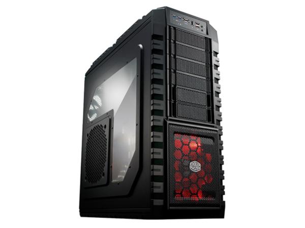 Cooler Master HAF X - Full Tower - Erweitertes ATX (ATX / PS/2) - Schwarz - USB/FireWire/Audio/E-SATA