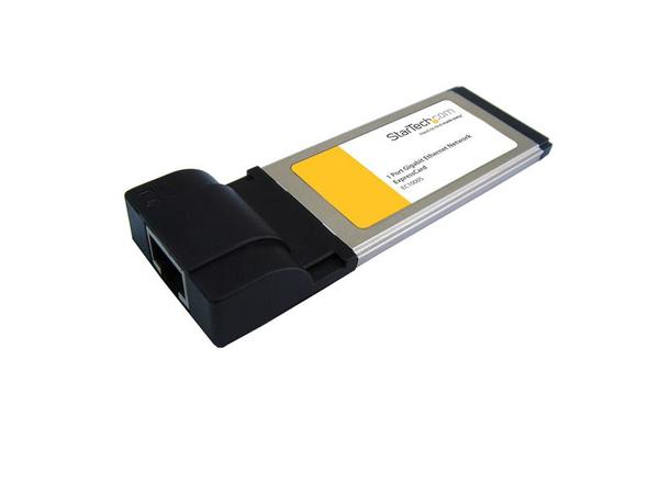 StarTech.com 34mm Ethernet Laptop ExpressCard - Netzwerkadapter - ExpressCard - Gigabit Ethernet