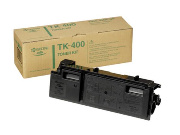 Kyocera TK 400 - Schwarz - Tonersatz - für FS-6020, 6020D, 6020DN, 6020DTN, 6020DX, 6020N, 6020N100, 6020T, 6020TN