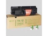 Kyocera TK 12 - Schwarz - Tonersatz - für FS-1550, 1550 Plus, 1550A, 1600, 1600 Plus, 1600A, 3400, 3600, 3600 Plus, 3600A, 3700