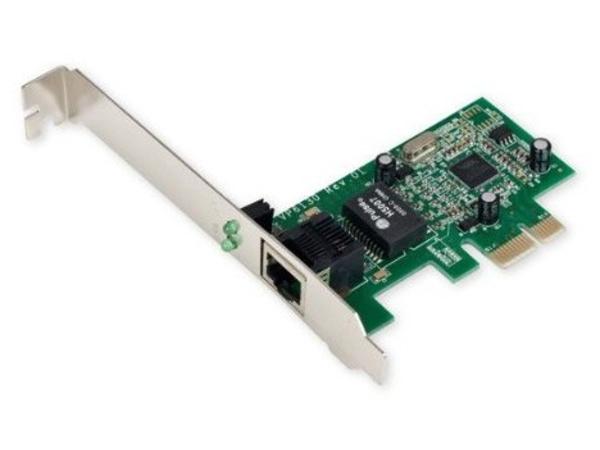 Fujitsu - Netzwerkadapter - PCIe 2.0 - Gigabit Ethernet - für Celsius J550, W570; ESPRIMO D556, D757, D757/E94, D956, D957, D957/E94, P556, P957