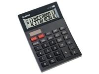 Canon AS-120 - Desktop-Taschenrechner - LCD - 12 Stellen - Solarpanel, Batterie - Dunkelgrau