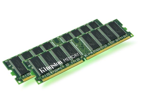 Kingston - DDR2 - 2 GB - DIMM 240-PIN - 667 MHz / PC2-5300 - ungepuffert