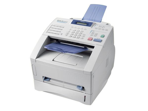Brother FAX-8360P - Faxgerät / Kopierer - s/w - Laser - 216 mm Breite (Original) - bis zu 14 Seiten/Min. (Kopieren)