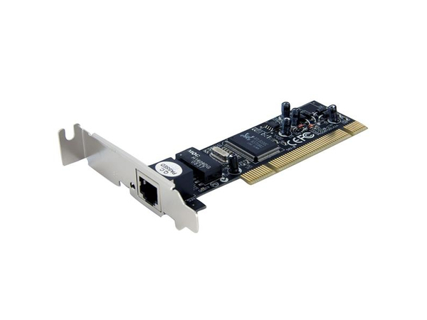 StarTech.com PCI Fast Ethernet Low Profile Netzwerkkarte - 10 / 100 Mbit/s NIC Lan Karte - Netzwerkadapter - PCI Low Profile - 10/100 Ethernet