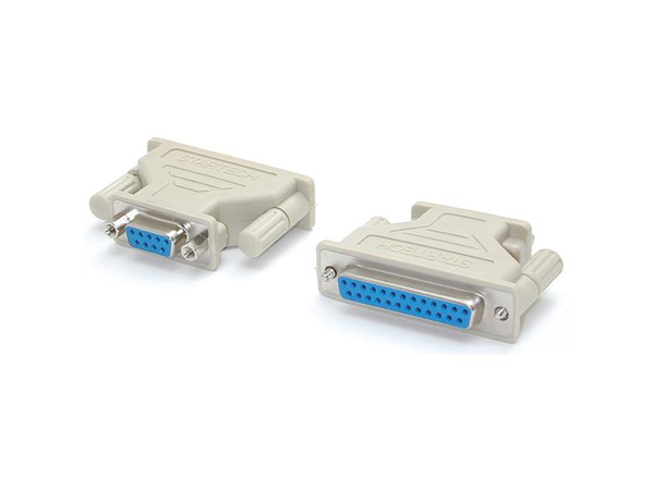 StarTech.com DB9 to DB25 Serial Cable Adapter - F/F - Serieller Adapter - DB-9 (W) bis DB-25 (W) - für StarTech.com 1, 16, 2, 2 Serial/1, 4, PCI4S650, Seriell RS232, Serielle RS-232, USB 2.0