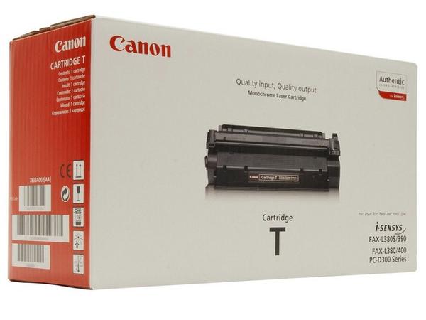 Canon T - Schwarz - Original - Schwarz - Tonerpatrone - für FAX L380, L380S, L390, L400; ImageCLASS D320, D340; LASER CLASS 310, 510; PCD320, D340