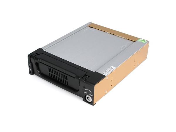 StarTech.com SATA Wechselrahmen 5,25 Zoll - Mobiles Festplatten Speicher Rack 3,5