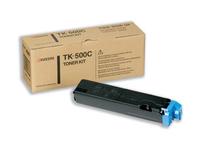 Kyocera TK 500C - Cyan - Tonersatz - für FS-C5016, C5016DN, C5016DNH, C5016DTN, C5016N