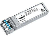 Intel Ethernet SFP+ LR Optics - SFP+-Transceiver-Modul - 10 Gigabit Ethernet - 1000Base-LX, 10GBase-LR - LC Einzelmodus - bis zu 10 km