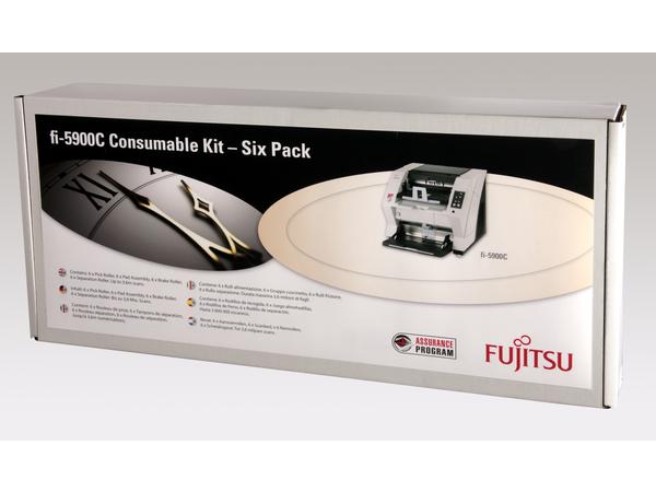 Fujitsu Consumable Kit - Scannerzubehörkit - für fi-5900C, 5950