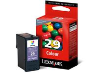 Lexmark Cartridge No. 29 - Farbe (Cyan, Magenta, Gelb) - Original - Tintenpatrone LRP - für X2500, 2530, 2550, 5070, 5075, 5320, 5340, 5410, 5490, 5495; Z1300, 1310, 1320, 845