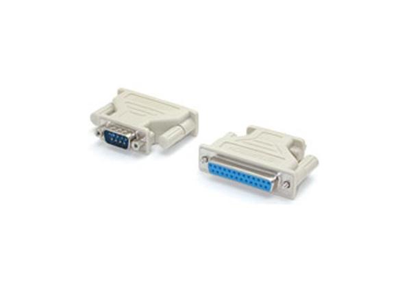 StarTech.com DB9 auf DB25 Seriell Adapter - St/Bu - Serieller Adapter - DB-9 (M) bis DB-25 (W) - für StarTech.com 4, 8