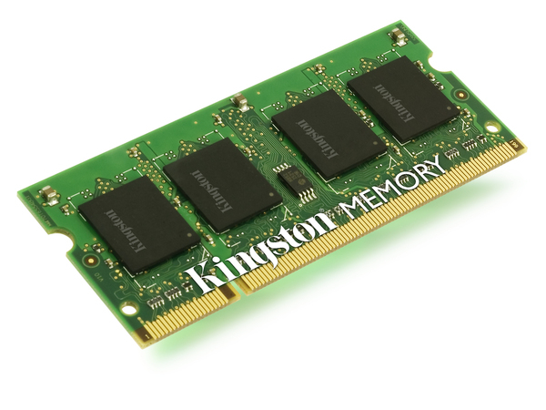 Kingston - DDR2 - 2 GB - SO DIMM 200-PIN - 667 MHz / PC2-5300 - ungepuffert