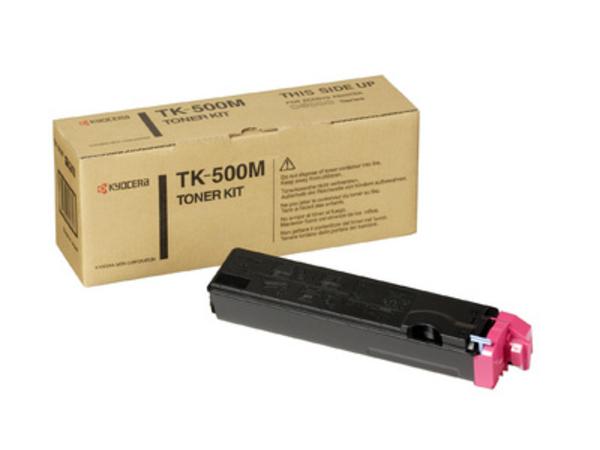 Kyocera TK 500M - Magenta - Tonersatz - für FS-C5016N