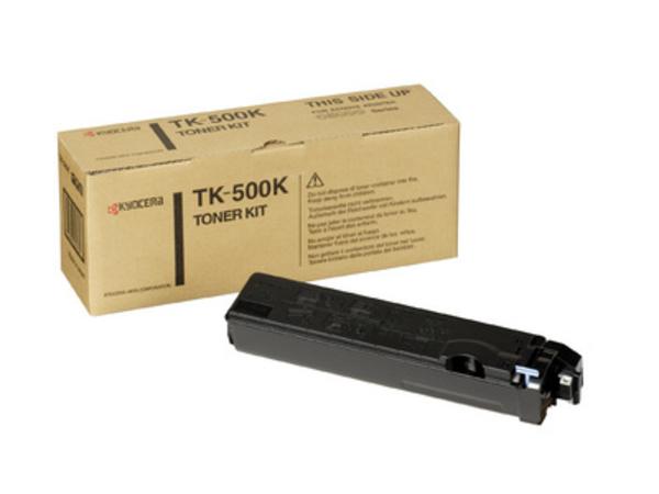 Kyocera TK 500K - Schwarz - Tonersatz - für FS-C5016, C5016DN, C5016DNH, C5016DTN, C5016N