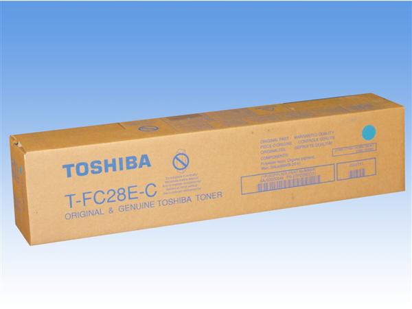 Toshiba TFC28EC - Cyan - Original - Tonerpatrone - für e-STUDIO 2330c, 2820c, 2830c, 3520c, 3530c, 4520c