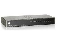 LevelOne GSW-0809 - Switch - 8 x 10/100/1000 - Desktop