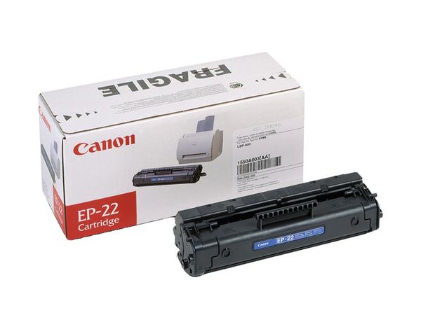 Canon EP-22 - Schwarz - Original - Tonerpatrone - für Laser Shot LBP-1120; LBP-1110, 1110 Premium, 1110SE, 1120, 250, 350, 5585, 800, 810