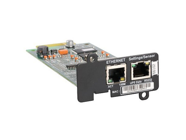Lenovo Network Management Card - Fernverwaltungsadapter - 100Mb LAN - für IBM 1500VA, 2200VA, 3000VA, 6000VA; System x3300 M4; x3500 M4; x3950 X5