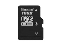 Kingston - Flash-Speicherkarte - 16 GB - Class 4 - microSDHC