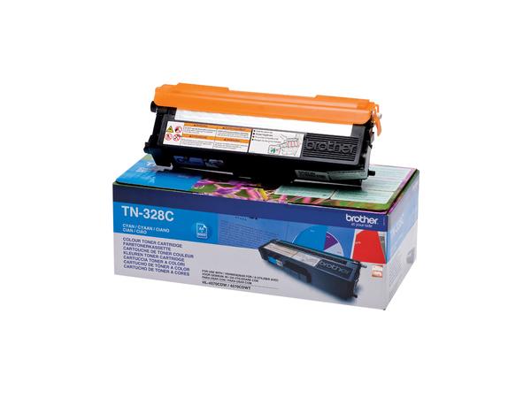 Brother TN-328C, Cyan, HL-4570CDW, HL-4570CDWT, 1 Stück(e), Lasertoner, 6000 Seiten, Laser