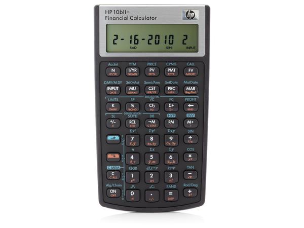 HP 10bII+ - Finanz-Taschenrechner - 12 Stellen - Batterie