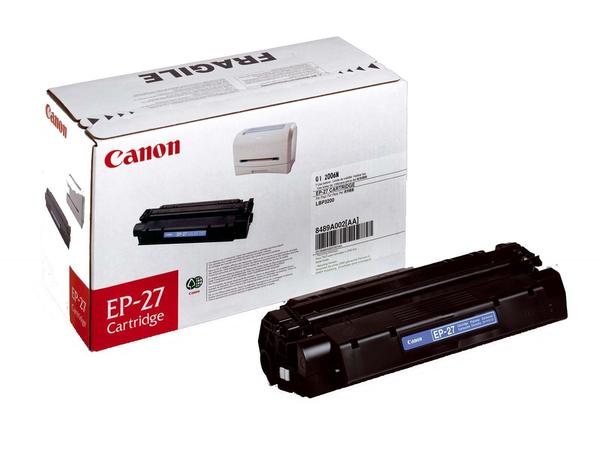 Canon EP-27 - Schwarz - Original - Tonerpatrone - für i-SENSYS MF3220, MF3228; LaserBase MF3110, MF3228, MF3240, MF5730, MF5750