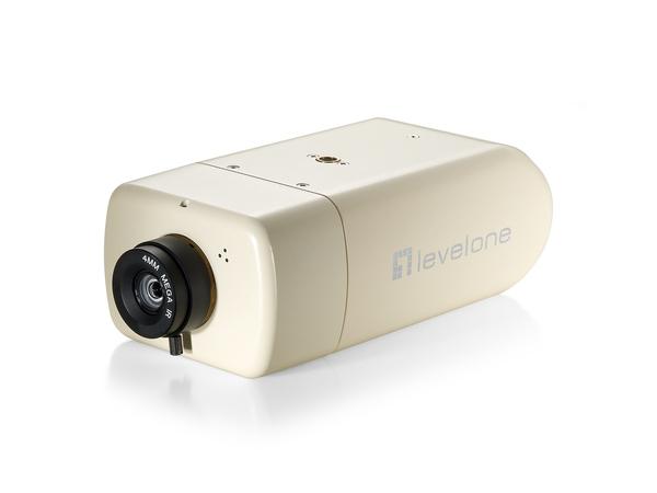 LevelOne FCS-1131 - Netzwerk-Überwachungskamera - Farbe (Tag&Nacht) - 2 MP - 1920 x 1080 - CS-Halterung