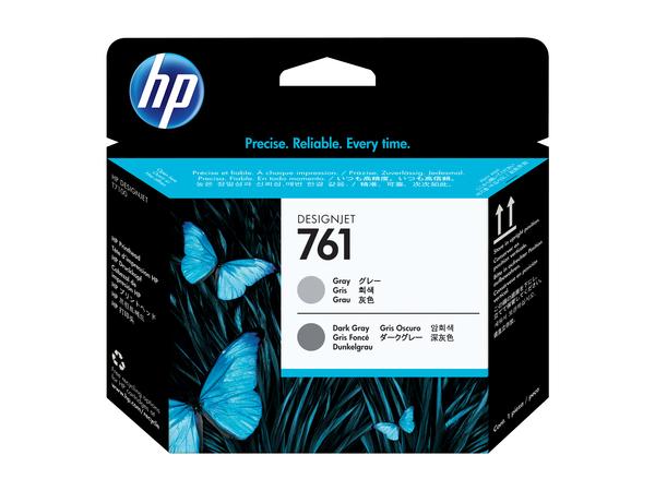 HP 761 - Grau, Dunkelgrau - Druckkopf - für DesignJet T7100, T7200 Production Printer