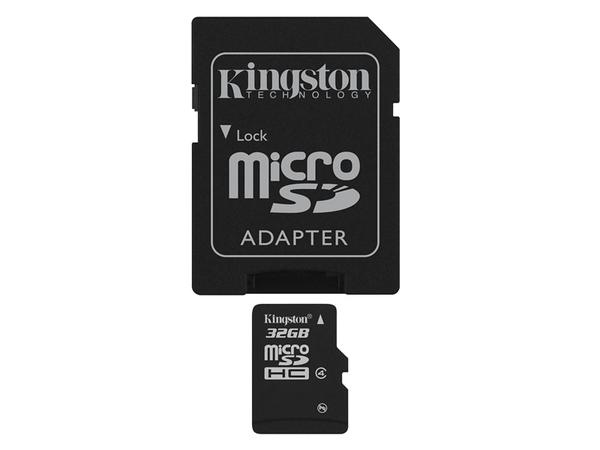 32GB MICROSDHC CLASS 4