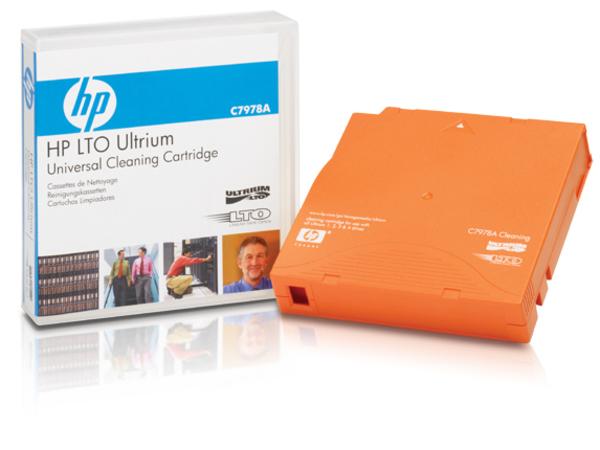 HPE Ultrium Universal Cleaning Cartridge - LTO Ultrium - orange - Reinigungskassette - für LTO-5 Ultrium; StorageWorks SB1760; SureStore Ultrium; Ultrium 448, 920