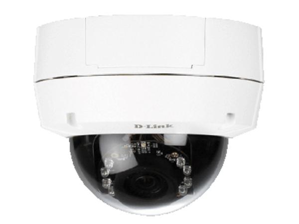 D-Link DCS 6511 - Netzwerk-Überwachungskamera - Kuppel - Außenbereich - Vandalismussicher / Wetterbeständig - Farbe (Tag&Nacht)