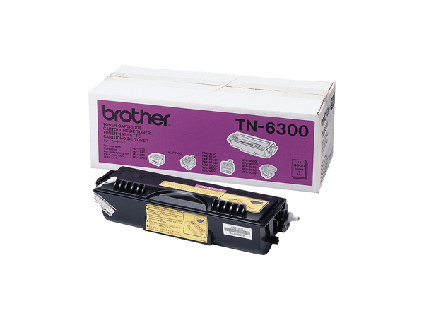 Brother TN6300 - Schwarz - Original - Tonerpatrone - für Brother DCP-1200, MFC-8600, 9600, 9660, 9760, 9880; FAX-4750, 8360; HL-12XX, 14XX, P2500