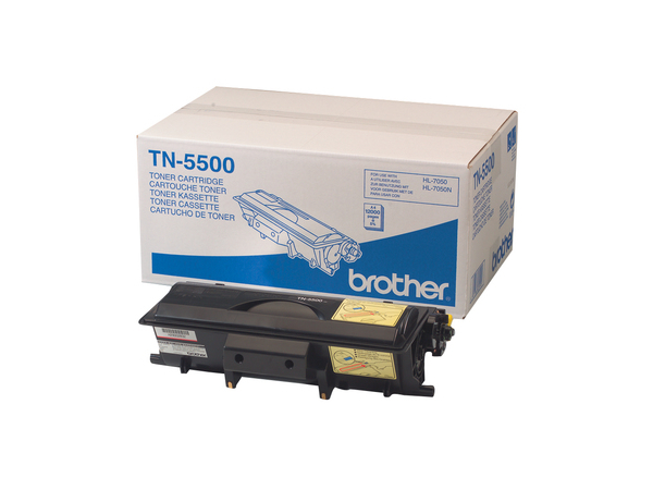Brother TN5500 - 1 - Original - Tonerpatrone - für HL-7050, 7050DN, 7050DTN, 7050LT, 7050N, 7050NB, 7050NDLT, 7050NLT, 7050TN