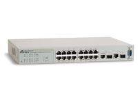 Allied Telesis AT FS750/16 WebSmart Switch - Switch - verwaltet - 16 x 10/100 + 2 x Kombi-Gigabit-SFP - Desktop