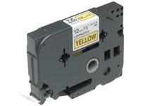 Schriftbandkassette TX631 / gelb / schwarz / 15m / 12mm / laminiert / f. P-Touch 7000, 8000 und P-touch PC