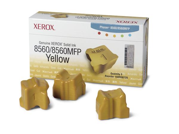 Xerox - 3 - Gelb - feste Tinten - für Phaser 8560