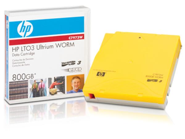 HPE LTO3 Ultrium DataCartridge 800GB WOR