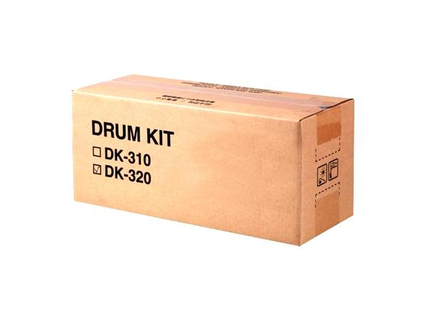 KYOCERA DK-320, - FS-2020 - FS-3920 - FS-4020DN, 300000 Seiten, Laser